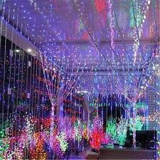 328FT 100M 1000 LED Light String Fairy F Decoration Christmas Xmas Party Wedding