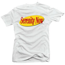 Seinfeld Inspired Serenity Now Logo George Costanza Funny TV T-Shirt 2 Colours