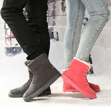 New men's and women casual high-top lace boots snow boots