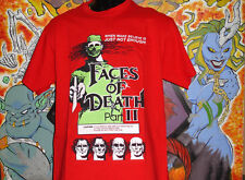 Faces of Death 2 Shirt Lucio Fulci Dario Argento Horror Cannibal Holocaust