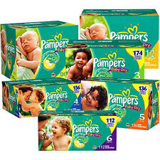 Pampers Baby Dry Diapers Size  2, 3, 4, 5, 6 CHEAP!!!