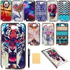 Hot Design Cute Pattern Hard Case Cover Back Protector For Samsung Galaxy Note 2