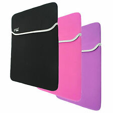 "15.4"", 15.5"" , 15.6"" Laptop soft Neoprene sleeve Protection case cover bag pouch"