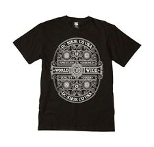 DC Shoes Mens Heritage Hills T Shirt Black  Skater Streetwear