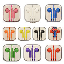 3.5mm Earphones Handsfree With Remote Mic Volume Controls for Phone Pad Tab MP3