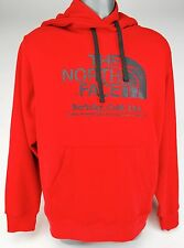 THE NORTH FACE HALF BERKELEY CA DOME HOODIE IRREG TELE RED BRAND NEW WITH TAG