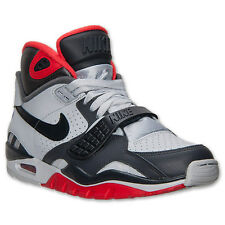 Nike Air Trainer SC II BO JACKSON Mens Size Platinum Grey Red Shoes 443575 005