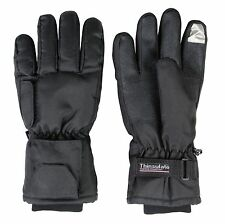 Basic Dual Fuel Battery Heated Touch Screen Gloves Winter Outdoor Pocket Warm