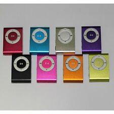 2Mini Clip Metal MP3 Player+8GB Memory Card 1 card reader(8 colours be choosed)