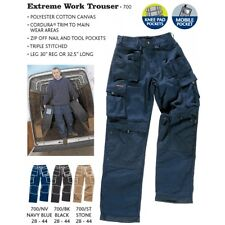 CASTLE CLOTHING TUFFSTUFF EXTREME 700 TROUSERS RRP £30.60 OVER 50% OFF