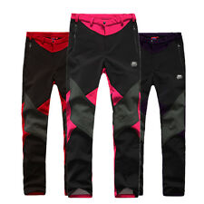 Outdoor Camping Pant Winter Windstopper Hiking Women Ski Pants Trousers S-2XL