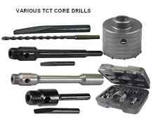 TCT CORE DRILLS masonry block brick wall concrete hole arbour arbor hex SDS