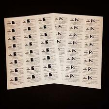 Royal Mail Pre Printed PPI Labels 1st 2nd Class 1200, 2400,4800 + Return Address