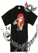 ★ punk alternative DISNEY ★ t-shirts ★ taille adulte Tatouage ★ ★ Rock ★ CADEAU ★ Princesse ★