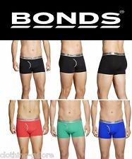 MENS BONDS MICROFIBRE GUYFRONT TRUNK TRUNKS UNDERWEAR SHORTS BOXERS BRIEFS SIZE