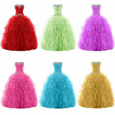 (6 available)Quinceanera Dresses Bridal Gown Pageant Formal Prom dresses Custom