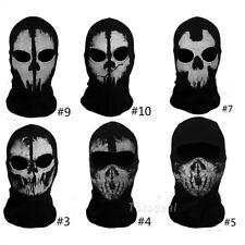 Ghost Balaclava Face Skull Mask Hood  Field Combat Simulation Cosplay COD Call