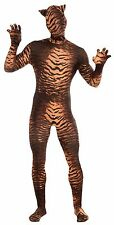 Disappearing Skin Suit Wild Tiger Jungle Cat Halloween Costume Morph Invisible