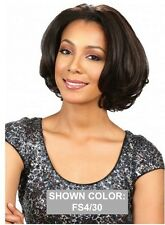 MIDWAY BOBBI BOSS MLF-79 HONEY GOLD SHORT STRAIGHT SYNTHETIC LACE FRONT WIG