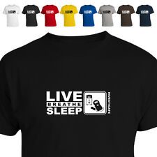 Paranormal Ghost Hunter Emf Gift T Shirt Eat Live Breathe Sleep  Investigate 011