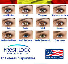 Lentillas de colores Lentilles couleur, Contact lenses color (Made in USA)