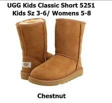 UGG Australia 5251K Classic short chestnut boot kids/youth .