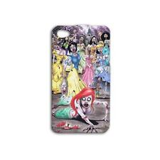 Disney Princess Zombies Iphone 4 4s 5 5s Phone Hard Case+3 Gifts