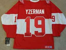 STEVE YZERMAN DETROIT RED WINGS 2014 WINTER CLASSIC ALUMNI CCM JERSEY