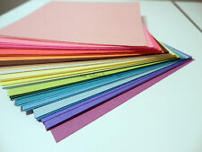 """100 Sheets Origami Paper 3 Sizes Including 6x6"""" Squares 25 Colors Rainbow"""