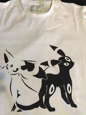 ESPEON AND UMBREON T SHIRT Pokemon X and Y Retro Many Colours!!!