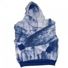 Long Sleeve Tie Dye Hooded Pullover Sweatshirt M-12XB  MT-11/12XLT USA SOV8850TD