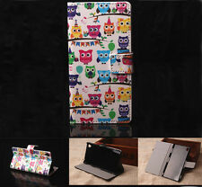 Many Owls Luxury Wallet Flip wallet card leather case fr Samsung Iphone Nokia G4
