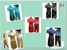 New Chinese Style embroider women's Dress/Cheong-sam sz6-22
