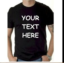 Custom Personalized T Shirt - Your TEXT on front, Camisetas