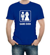 Game Over Marriage Funny Guy T-Shirt 100% Soft Cotton