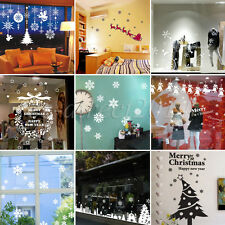 Christmas New Year Removable Vinyl Wall Sticker Window Decal DIY Xmas Home Decor
