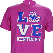 University of Kentucky UK Basketball Love KY on Pink Shirt Warehouse