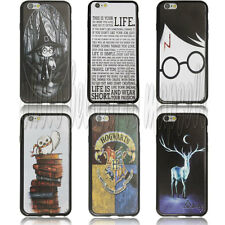 Harry Potter Durable black side Case for Apple Iphone 6 4.7 inch 02001