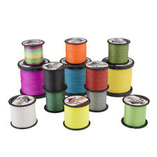 PE Dyneema Braid Fishing Line 500M 547 Yard Spectra 6LB 8LB 10-100LB Multicolor