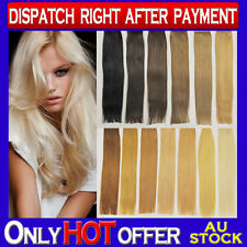"20"" Double Drawn I Tip Micro Bead Remy Human Hair Extensions Great Quality Thick"