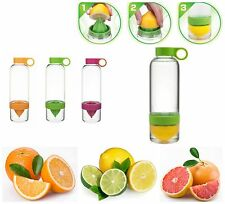 New Water Infusing Health lemon Juice Flavored Maker Bottle For Gym Use