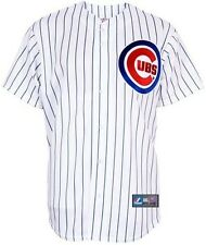 Chicago Cubs Majestic White Pinstripe Replica Baseball Jersey Big And Tall Sizes