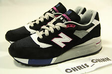 NEW BALANCE M998BK MADE IN USA BLACK LOT NB 574 999 1400 1600 997 RF KITH CNCPTS
