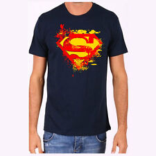 100% cotton mens tshirt superman