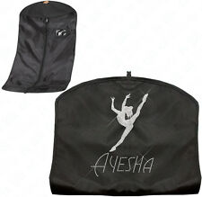 Personalised Diamante Gymnastics / Dance Costume, Dress Garment Carrier Bag