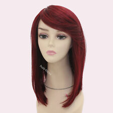 NEW FUTURA Page Long Side Straight Full Wig (Color Choice)