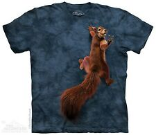 Peace Squirrel The Mountain Adult & Child Size T-Shirts