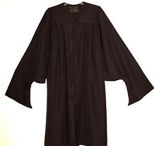 Oak Hall Masters Graduation Gown Black Matte Many Sizes Some Generic
