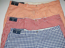 POLO RALPH LAUREN BIG AND TALL ORANGE BLUE RED SHORTS 44,46,48,50,52,56