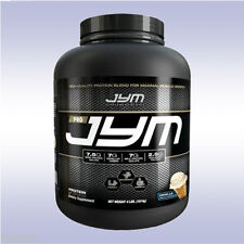 JYM PRO (4 LB) protein powder whey isolate milk casein egg bcaa jim stoppani gym